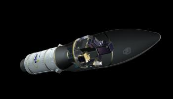 Artist's view of Vega flight VV16